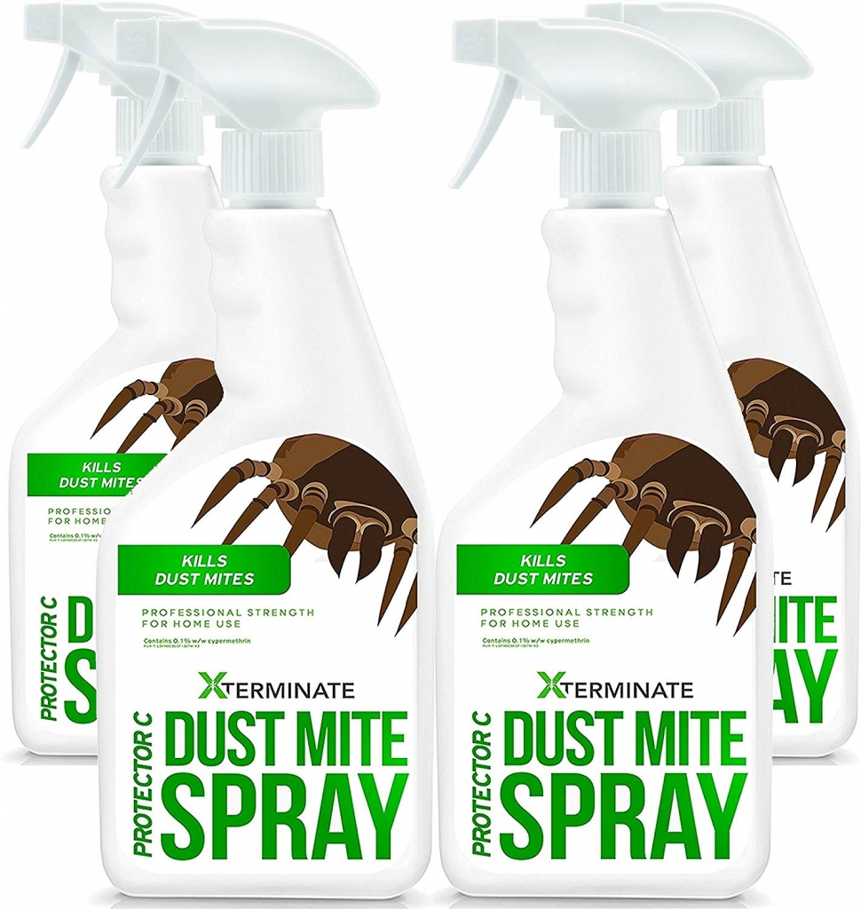 Xterminate dust mite killing spray